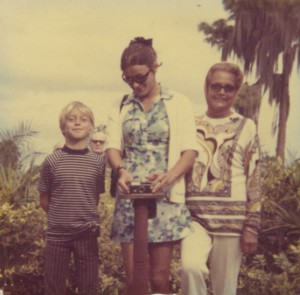 Sailor Alex, Mom and Grand-ma doing a selfie 1970