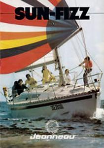 Jeanneau Sun Fizz Brochure cover circa 1980