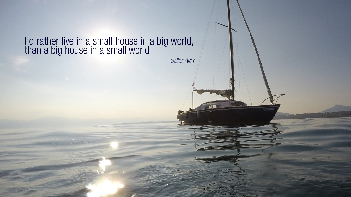 Why live on a boat?