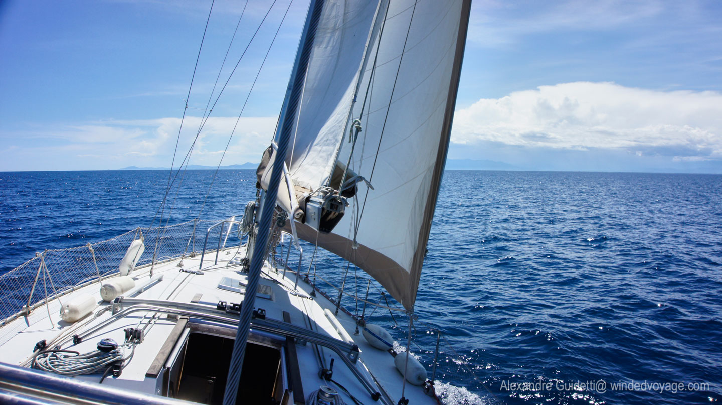 Aboard Sailing Vessel Galopin