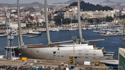 """A"" World's Biggest Sailboat"