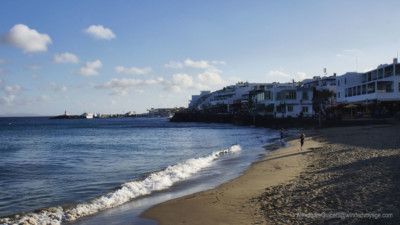 Beach at Playa Blanca