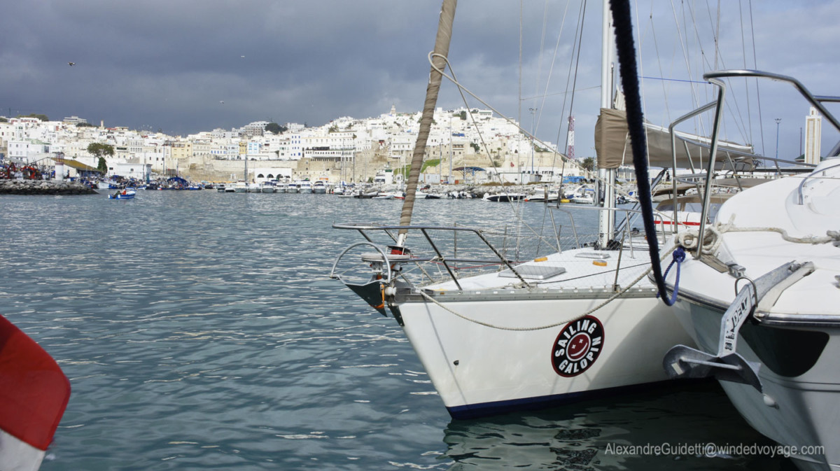 galopin in The port of Tangiers