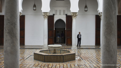 Inside the museum tangiers