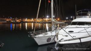 Galopin in port of tangier