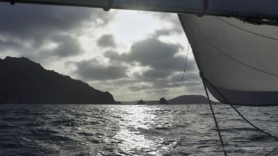 La Graciosa up ahead