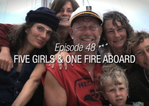 Five Girls and One Fire Aboard