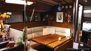 Sailboat dining room